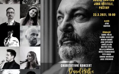 Charity concert of Daniel Hůlka