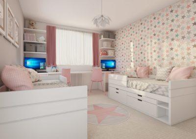 Návrh – dětský pokojík – Brno
